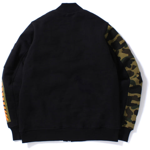 1ST CAMO SWEAT SHARK MA-1