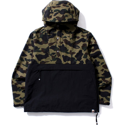 1ST CAMO PULLOVER HOODIE JACKET