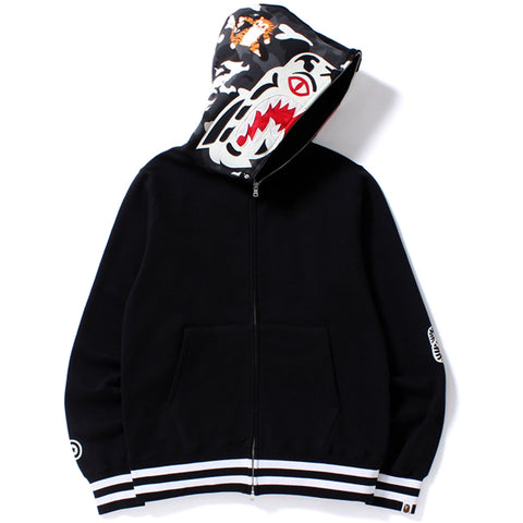 TIGER SWEAT VARSITY FULL ZIP HOODIE