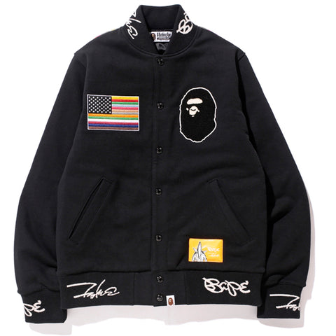 FUTURA SWEAT VARSITY JACKET