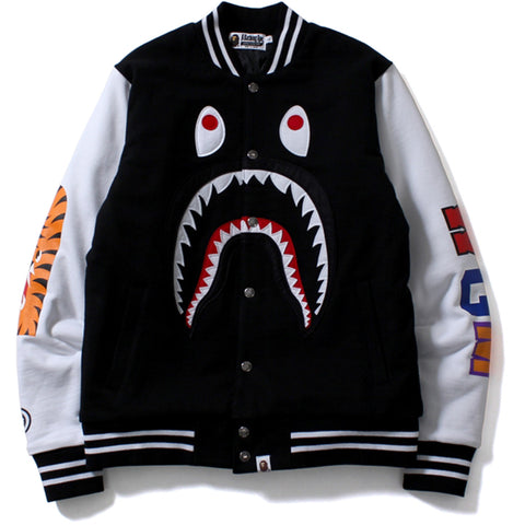 SHARK SWEAT VARSITY JACKET