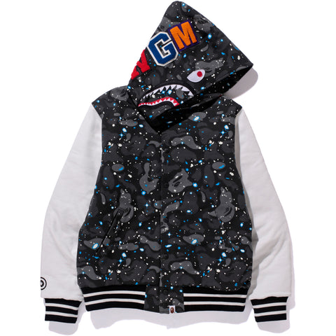 SPACE CAMO SHARK SWEAT VARSITY