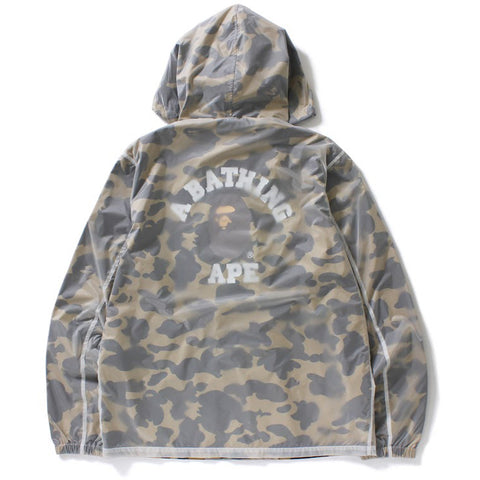 1ST CAMO TRANSLUCENT COACH JACKET