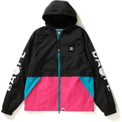 COLOR BLOCK HOODIE JACKET LADIES