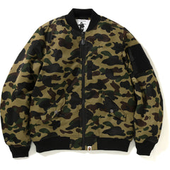1ST CAMO LIGHT BOMBER JACKET MENS