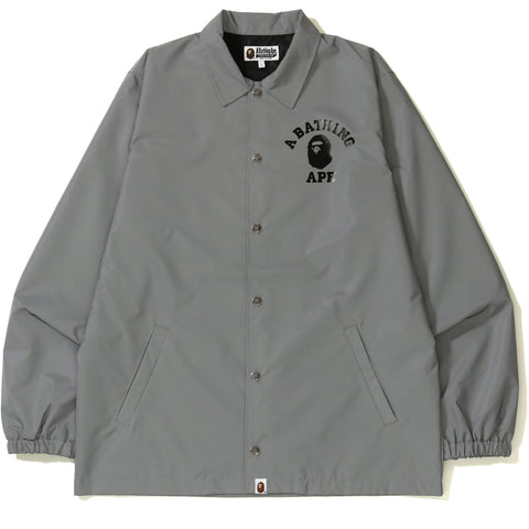 COLLEGE REFLECTOR COACH JACKET MENS
