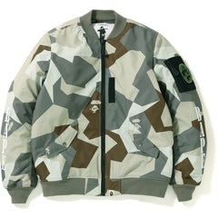 SPLINTER CAMO LIGHT BOMBER JACKET MENS