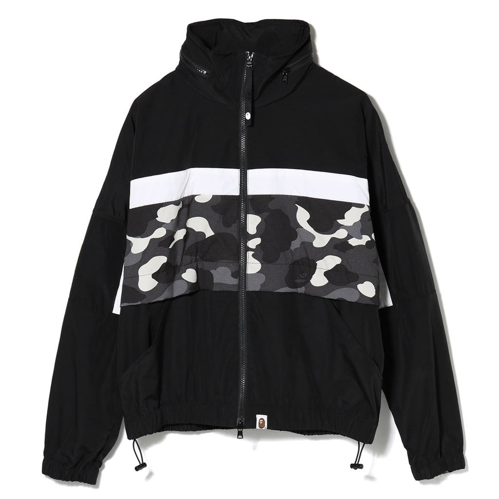 CITY CAMO WIDE CROPPED JACKET LADIES