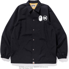 DC X BAPE COACH JACKET MENS