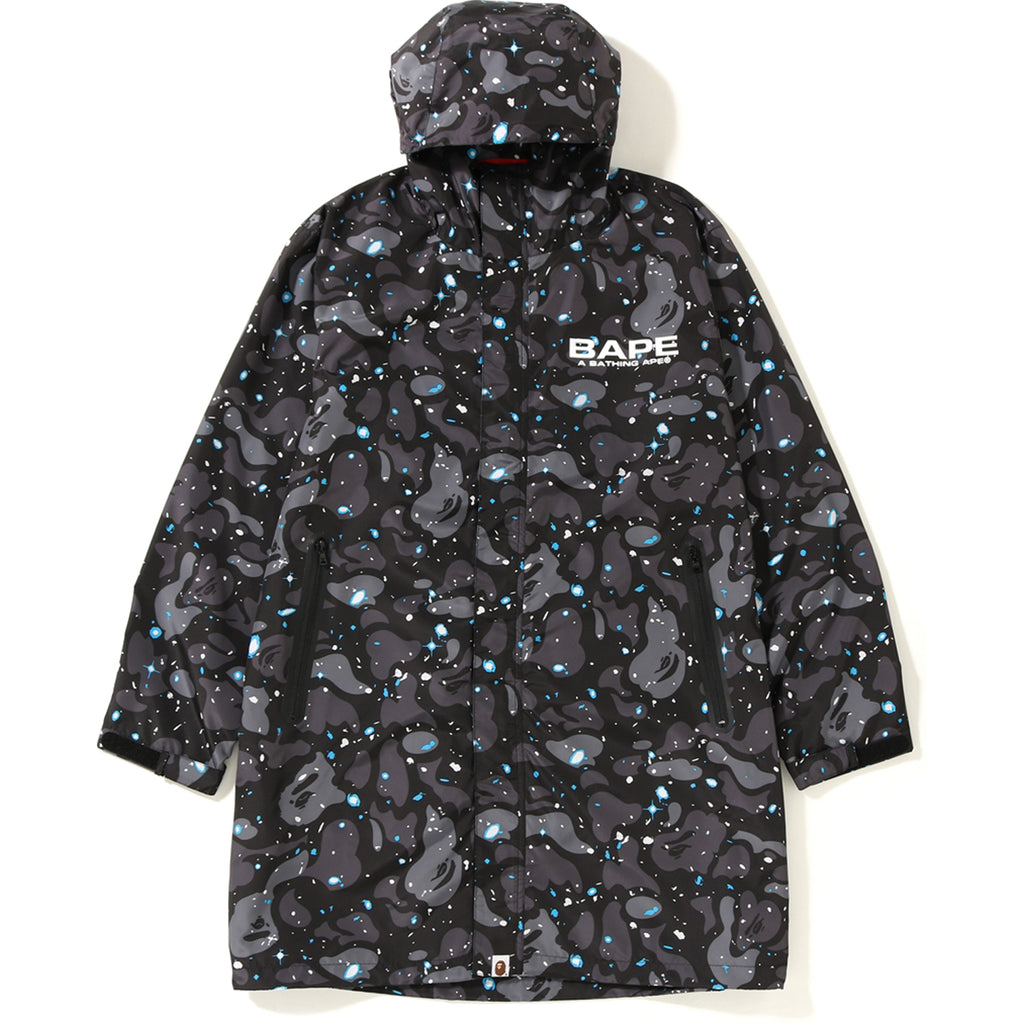 SPACE CAMO LONG HOODIE JACKET MENS