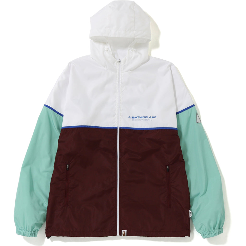 COLOR BLOCK TRACK TOP MENS