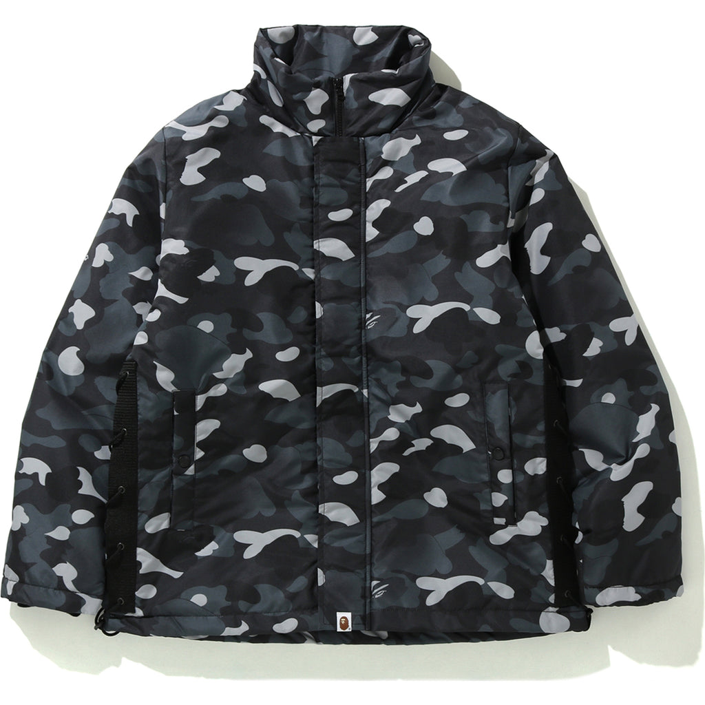 GRADATION CAMO LACE UP JACKET MENS