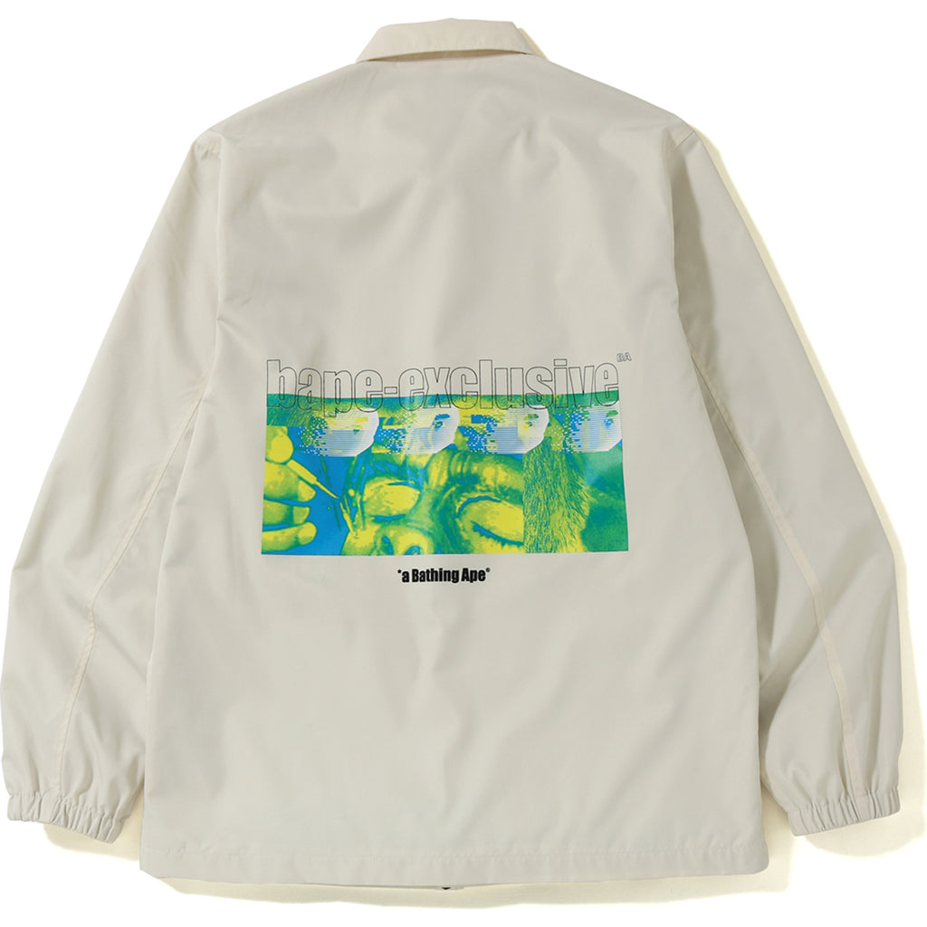 GRAPHIC COACH JACKET MENS