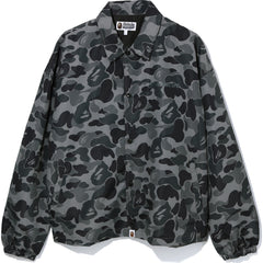ABC CAMO RELAXED COACH JACKET MENS