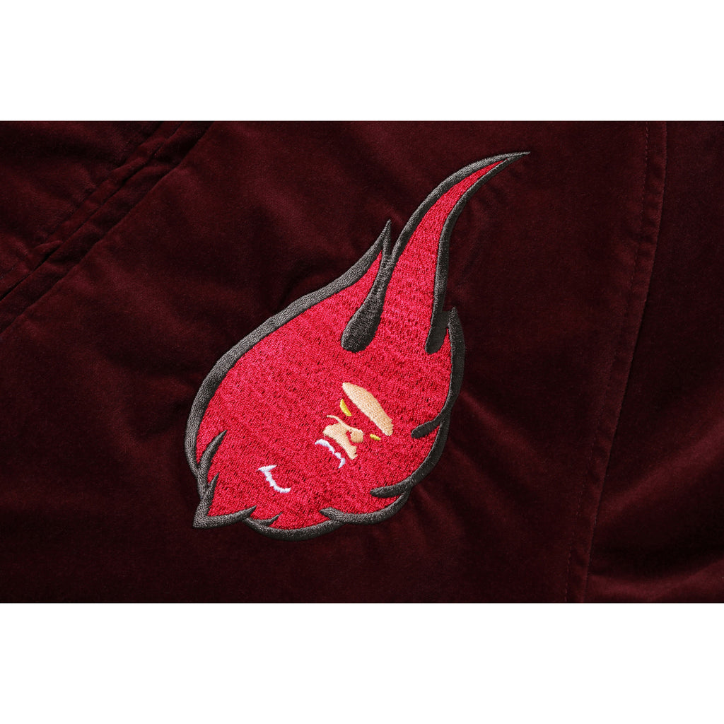 VELOUR SOUVENIR JACKET MENS