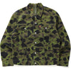 BAPE X LEVI'S COLOR CAMO TRUCKER JACKET MENS