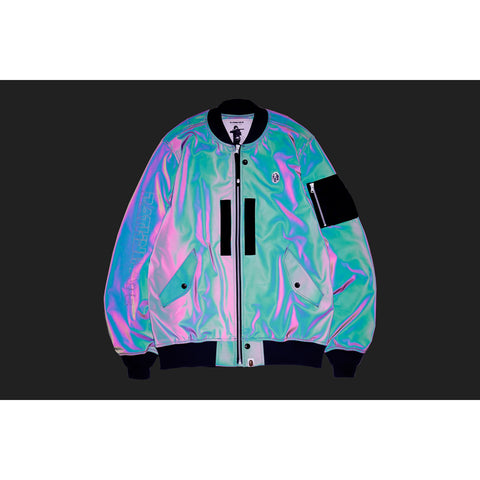 REFLECTOR LIGHT WEIGHT BOMBER JACKET MENS
