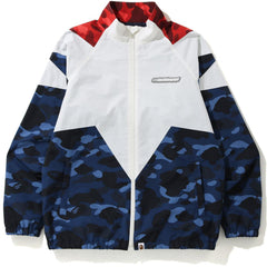 COLOR CAMO BAPESTA TRACK TOP MENS