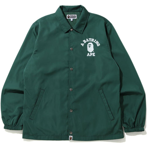 COLLEGE COACH JACKET MENS