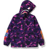 COLOR CAMO SHARK HOODIE JACKET JR KIDS