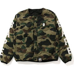 1ST CAMO LIGHT WEIGHT DOWN JACKET KIDS