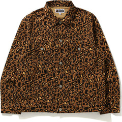 LEOPARD TRACKER JACKET MENS