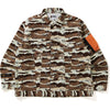 DESERT CAMO LOOSE FIT TRUCKER JACKET MENS
