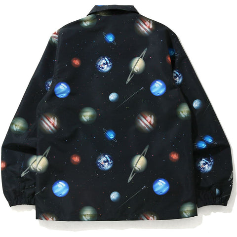 BAPE GALAXY COACH JACKET MENS