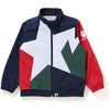 STA COLOR BLOCK TRACK JACKET KIDS