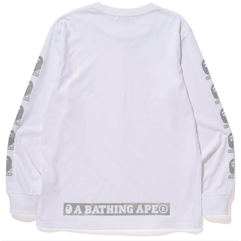 REFLECTION CAMO BY BATHING L/S TEE