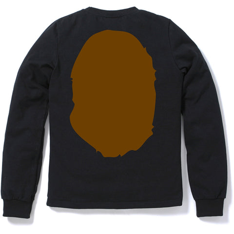 BIG APE HEAD LONG SLEEVE TEE /AP
