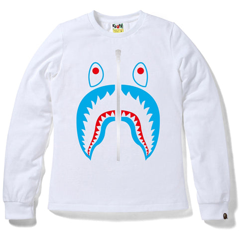 SHARK LONG SLEEVE TEE/AP