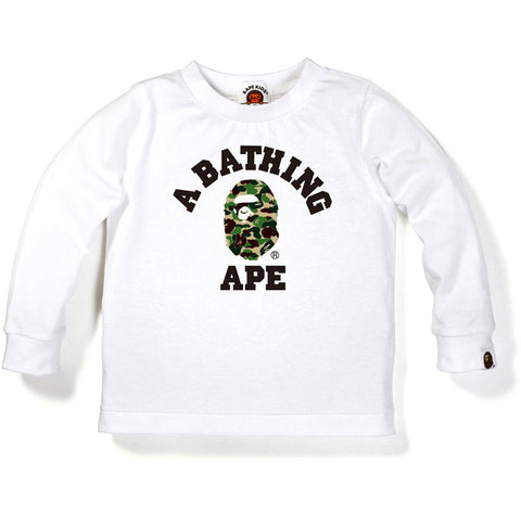 ABC CAMO COLLEGE LONG SLEEVE TEE /K