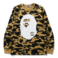 1ST CAMO BIG APE HEAD L/S TEE M