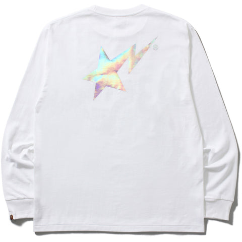 HOLOGRAM BAPESTA LONG SLEEVE TEE M