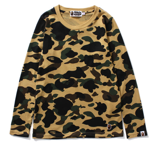 1ST CAMO L/S TEE LADIES