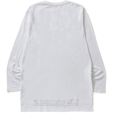 LONG LENGTH SIDE SLIT L/S TEE MENS