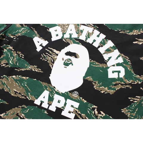 TIGER CAMO COLLEGE L/S TEE MENS