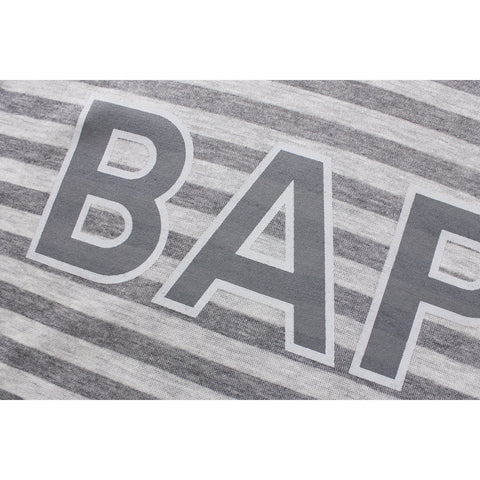 BAPE HOOP LONG SLEEVE TEE LADIES