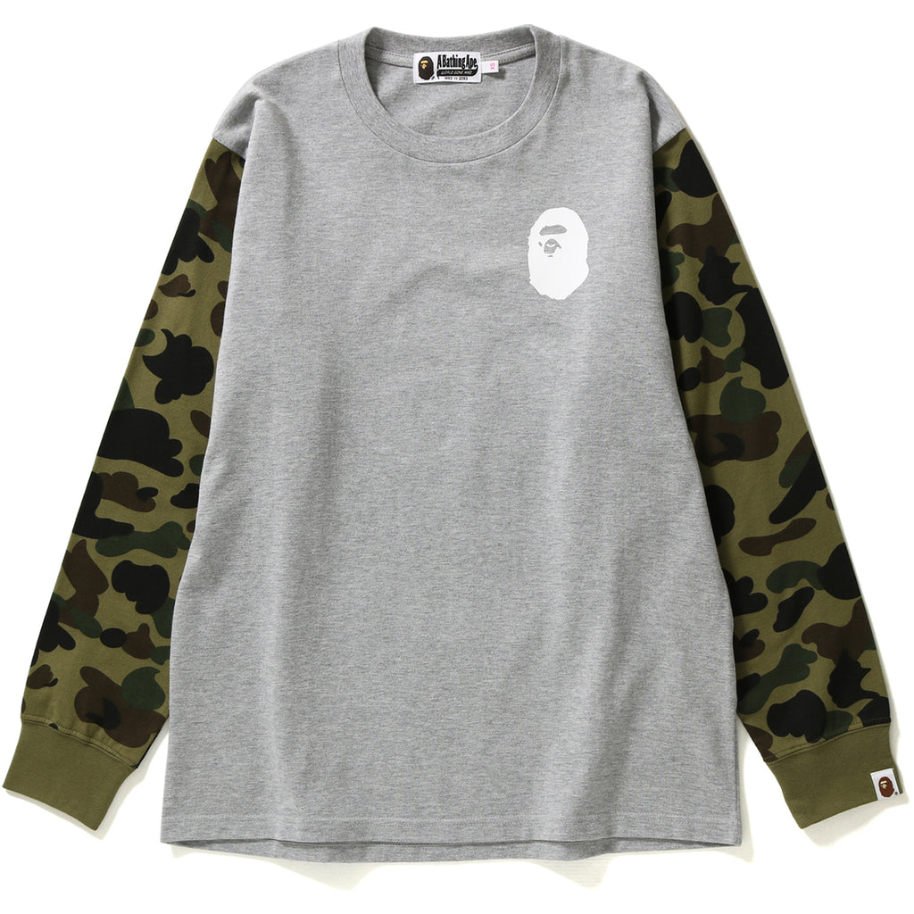 1ST CAMO OVERSIZED L/S TEE LADIES