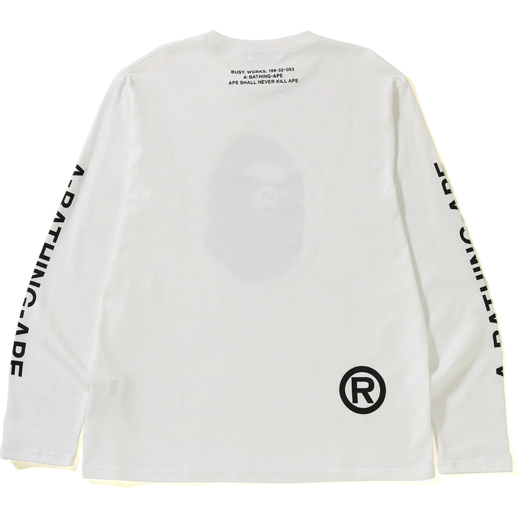 MAD FACE WIDE L/S TEE MENS