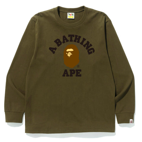 COLLEGE L/S TEE MENS