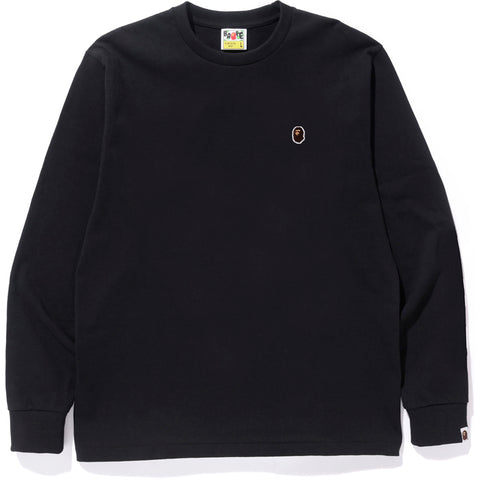 APE HEAD ONE POINT L/S TEE MENS