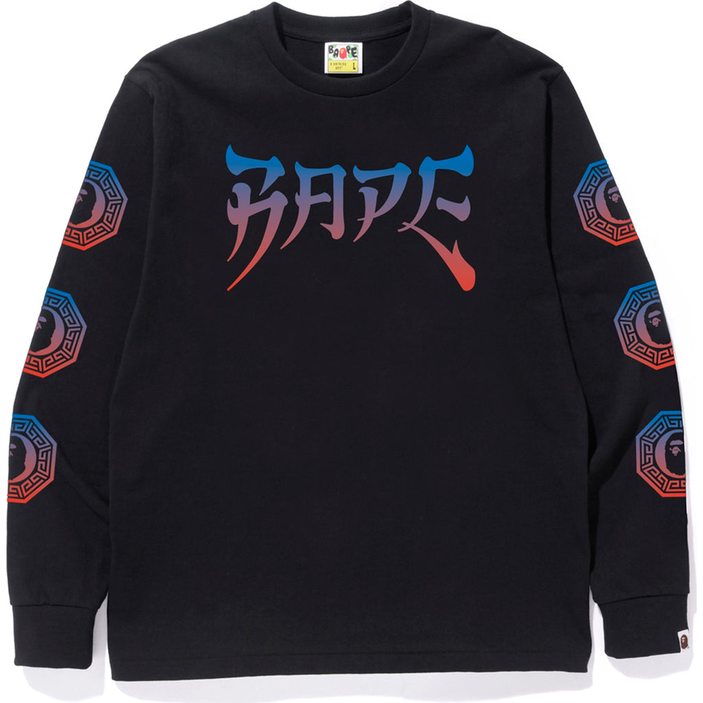 BAPE GRAPHIC L/S TEE MENS