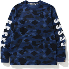 COLOR CAMO BAPE HUNTING L/S TEE MENS