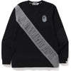A BATHING APE MIX L/S TEE MENS