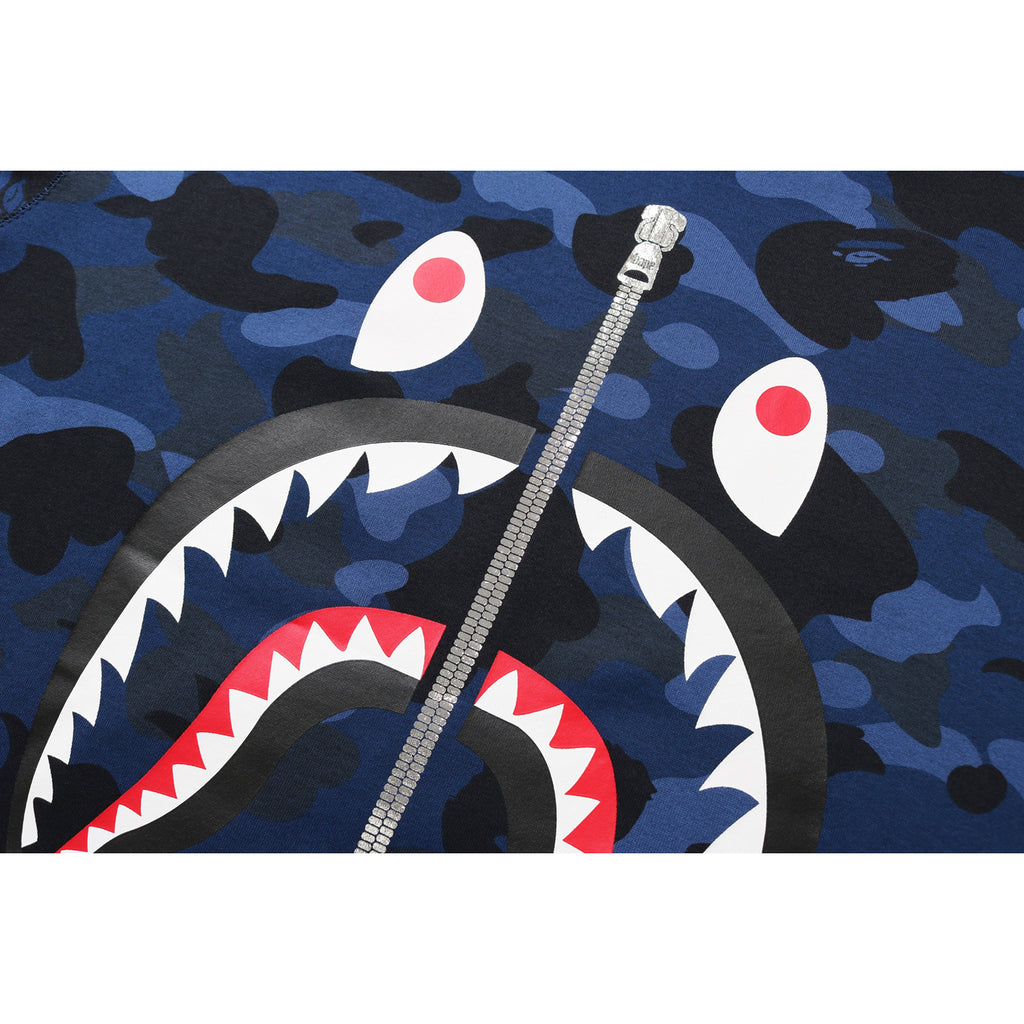 COLOR CAMO SHARK L/S TEE MENS