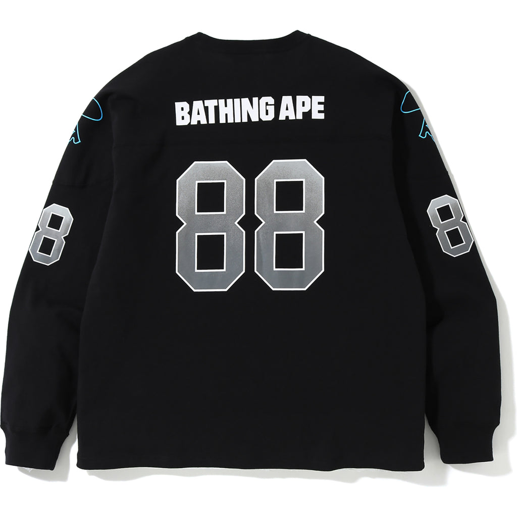 3202ddfb474 RELAXED FOOTBALL L/S TEE MENS | us.bape.com