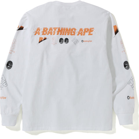 A BATHING APE L/S TEE MENS