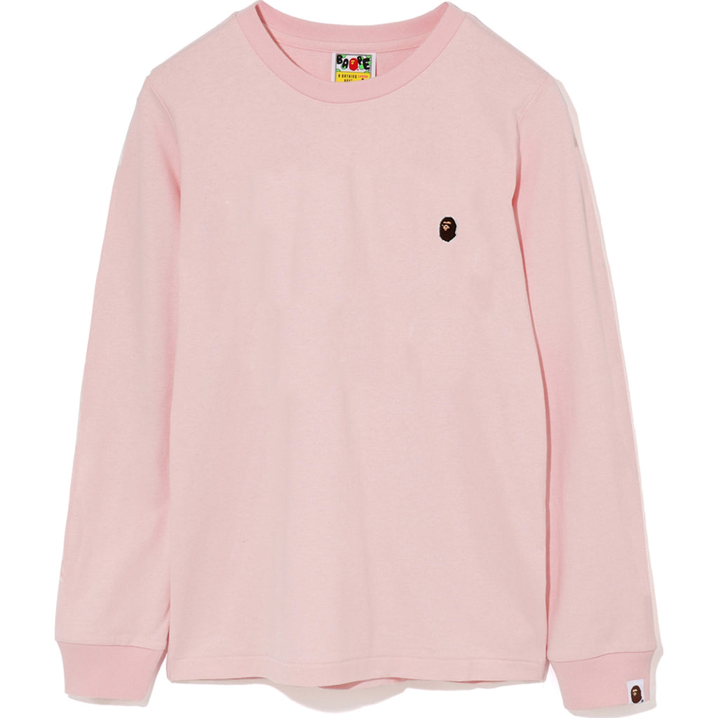 APE HEAD ONE POINT L/S TEE LADIES
